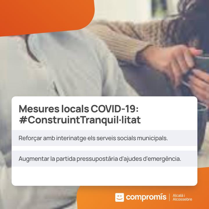 Messures Locals Covid19